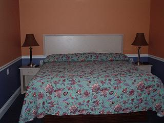 Fisherman's Motel - king bed.